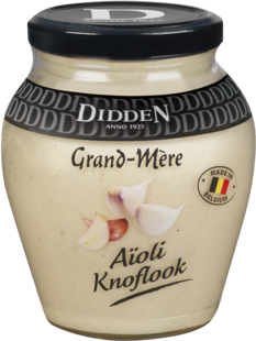 Aioli Glass jar 250 ml