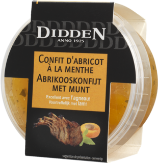 Apricot confit with mint Chilled Cabinet 150 g