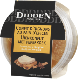 Onion confit with gingerbread Chilled Cabinet 150 g