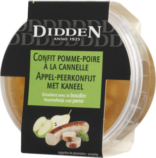 Apple-pear confit with cinnamon Chilled Cabinet 150 g