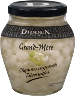 Silver Onions Glass jar 300 ml